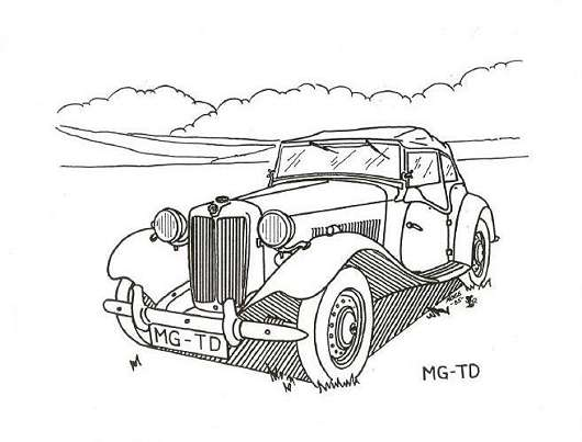 history of the mg td