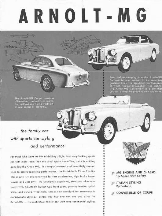 arnolt1 _530 BW history of the mg td the mg t types