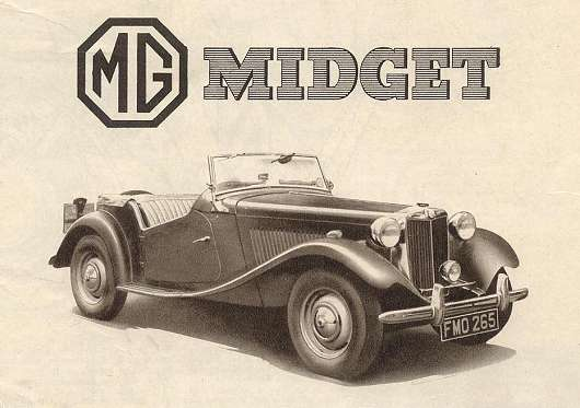 MG TD Midget 530 history of the mg td the mg td 1953 mg td wiring diagram at webbmarketing.co