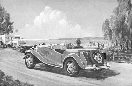 history of the mg td the mg t types