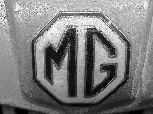 Grille badge MG TD